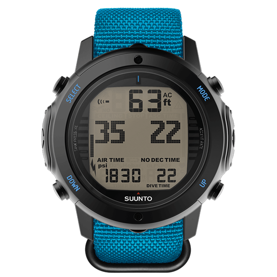 SUUNTO D6i NOVO ZULU Instructor Blue