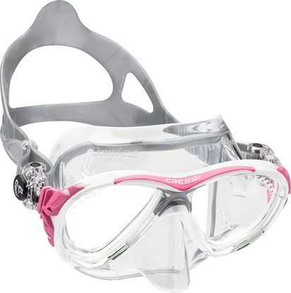 CRESSI EYES EVOLUTION MASK SIL CRYSTAL/FRAME PINK