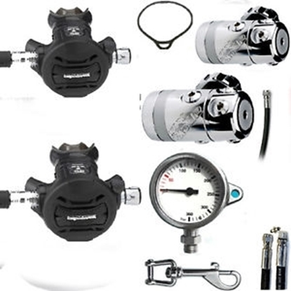 Picture of APEKS TEK SET & GAUGE (cev 65 cm)