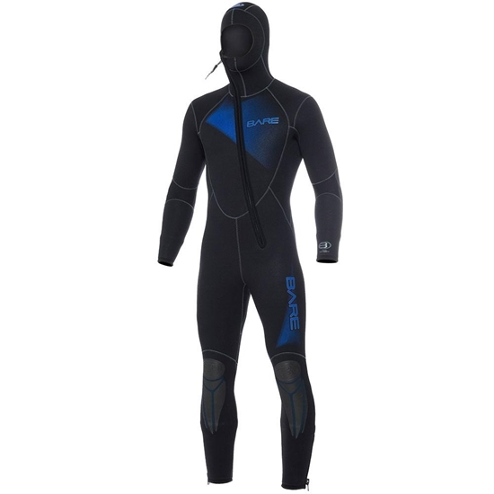 Bare Sport 5mm Man obleka s kapuco