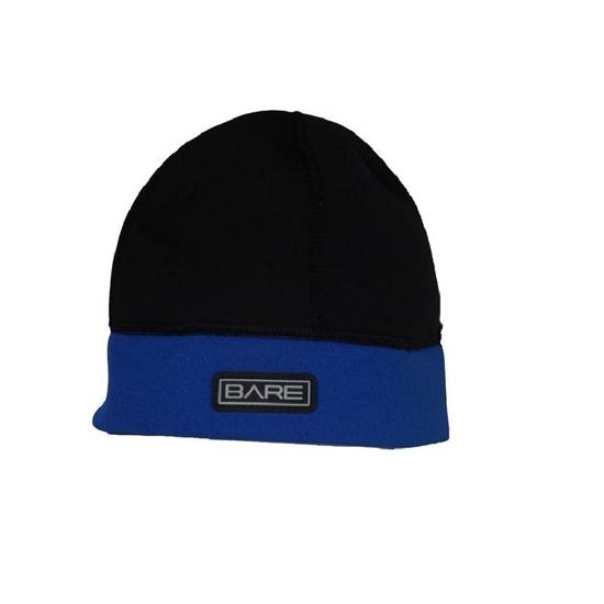 Bare Neo Beanie neoprenska kapa 2mm črno-modra