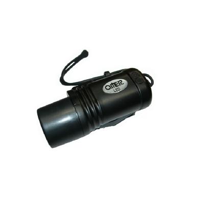 Omer Minimicra LED svetilka črna