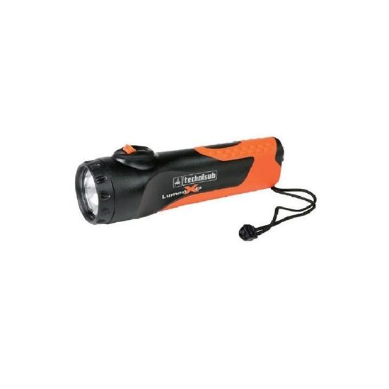 Technisub LUMEN X6 svetilka črno-oranžna