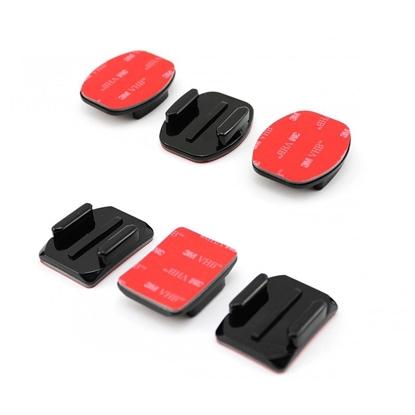 Gopro Curved + Flat Adhesive Mounts nosilci