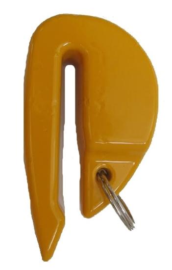 Utež za bojo rumena 600gr