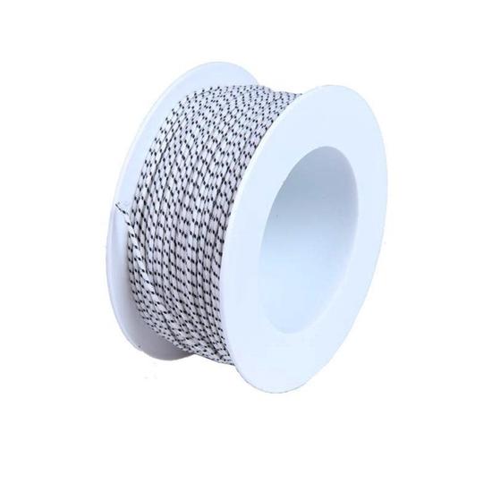 Dyneema SK75 1,5mm belo-črna / meter