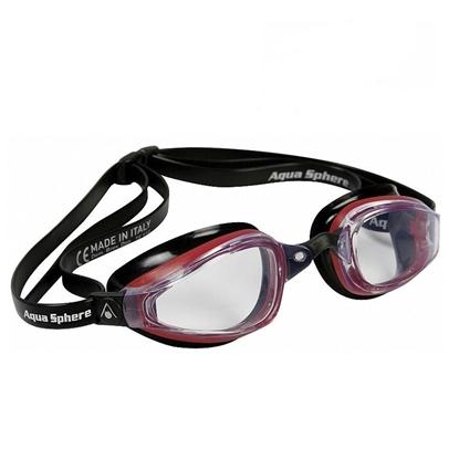 Aquasphere Michael Phelps MP K180 očala črn silikon/rdeč okvir