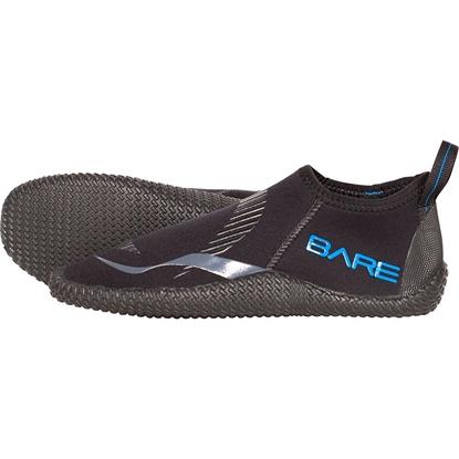 Bare Bare Feet 3mm nizki neoprenski čevlji črna
