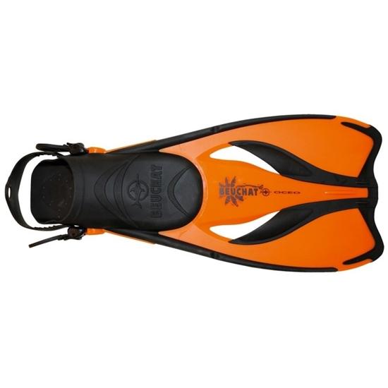 Beuchat Oceo plavutke oranžna