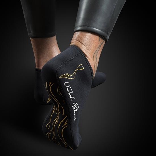 Omer UP-N1 nizke nogavice 3mm črna