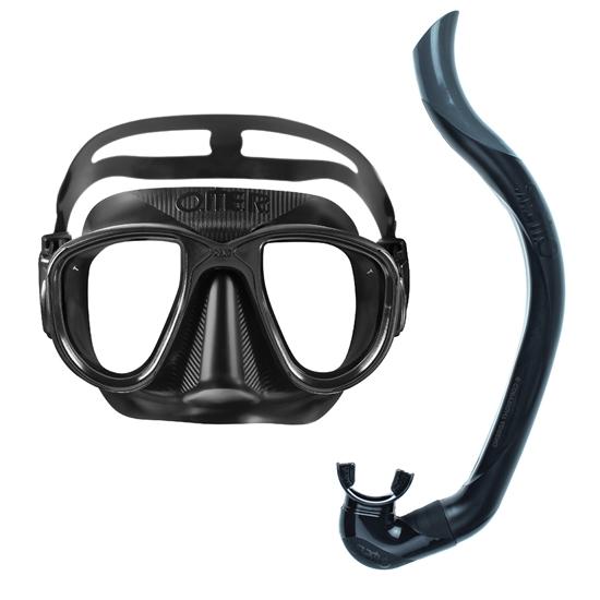 Picture of Omer Alien Black maska + Omer Slalom dihalka