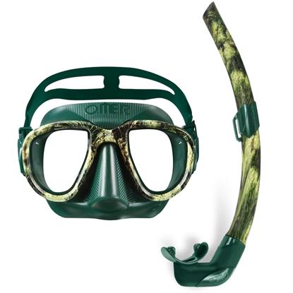 Picture of Omer Alien Sea Green maska + Omer Zoom Sea Green dihalka