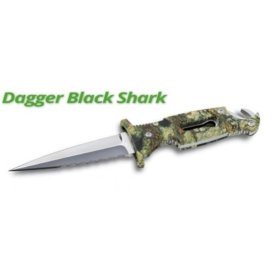 SPORASUB DAGGER  BLACK SHARK NOŽ