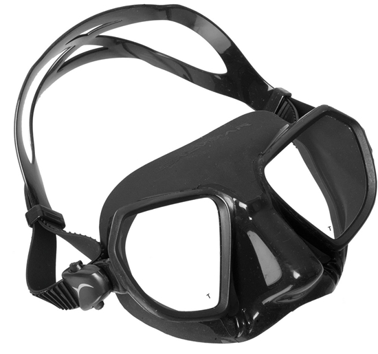 Salvimar Noah maska črn silikon, črna