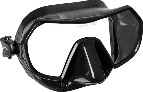 Salvimar Endless maska črn silikon, črna