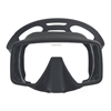 InWater Obsidian maska črn silikon