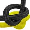 InWater LP nizkotlačna cev za regulatorje najlon črno-rumena