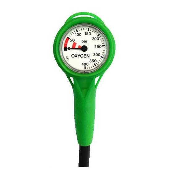 Termo Industria SPG 2K O2 clean analogni manometer nitrox s cevjo