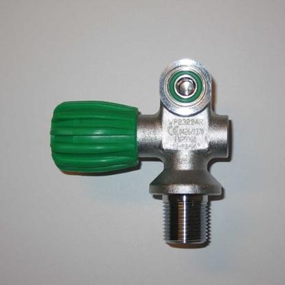 ScubaTech Ventil M25x2, S/R 232Bar, Oxygen clean