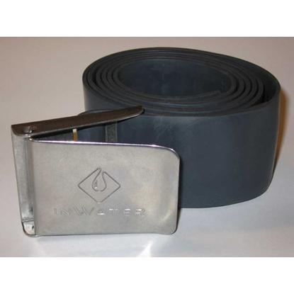 InWater Potapljaški pas elastični z inox zaponko