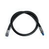 InWater LP nizkotlačna cev za regulatorje guma črna