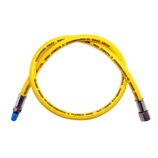InWater LP nizkotlačna cev za regulatorje guma črno-rumena