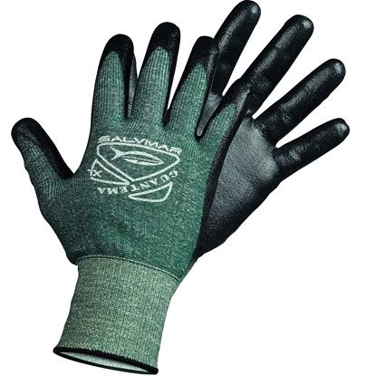Salvimar Guantema rokavice 100% dyneema črno-zelena