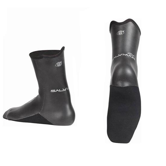 Salvimar Skinwind nogavice neoprenske 3,5mm črna