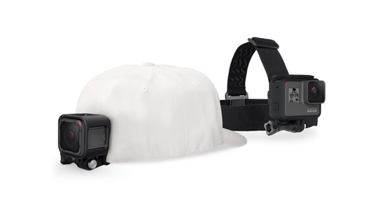 GoPro GoPro naglavni trak in sponka za pritrditev