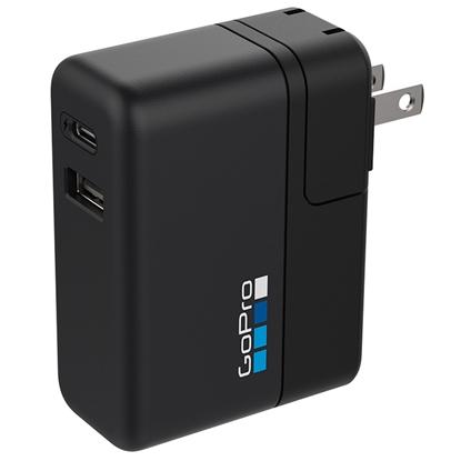 GoPro GoPro Supercharger hitri polnilec z dvema priključkoma (Dual Port Fast Charger)