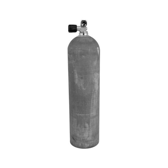 Picture of MES Aluminijasta enojna jeklenka z ventilom 11,1L