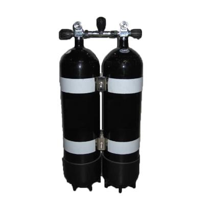Picture of Faber Jeklenka dvojna 2x12L, ventil z izolatorjem, inox obroči