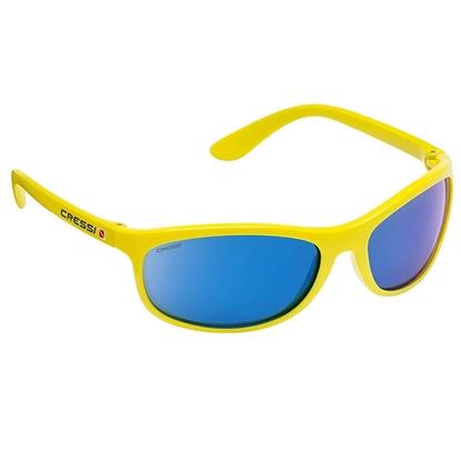 Cressi Rocker sončna očala rumen okvir / modre mirror leče