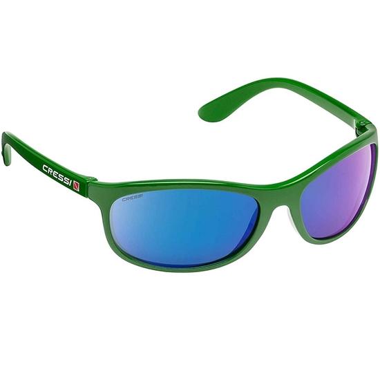 Cressi Rocker sončna očala zelen okvir / zelene mirror leče