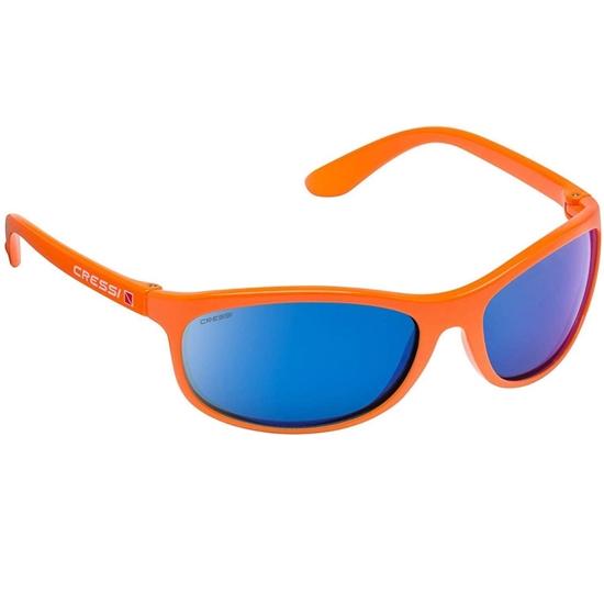 Cressi Rocker sončna očala oranžen okvir / modre mirror leče