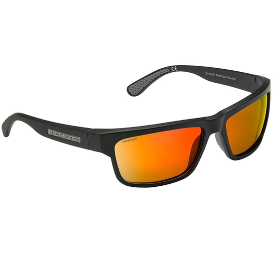Cressi Ipanema sončna očala siv okvir / oranžne mirror leče
