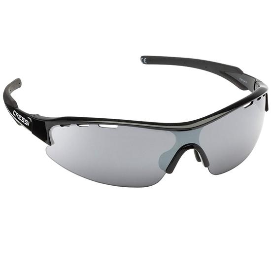 Cressi Vento sončna očala črn okvir / sive mirror leče
