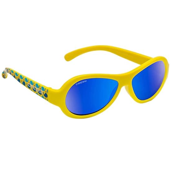 Cressi Scooby otroška sončna očala 0-2 let kit modre mirror leče