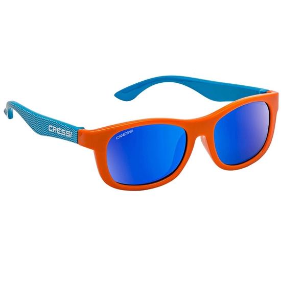 Cressi Teddy otroška sončna očala 0-2 let valovi modre leče
