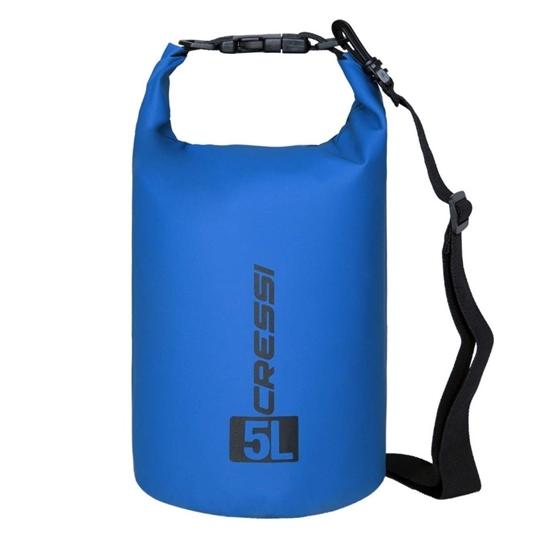 Cressi Dry Bag z naramnico   modra