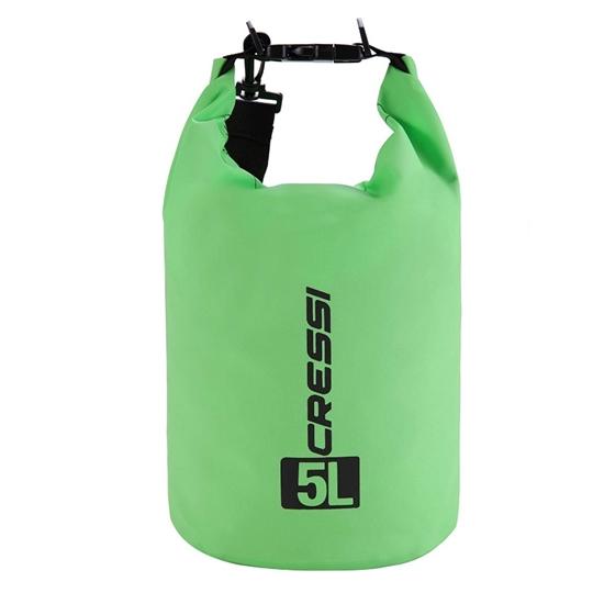 Cressi Dry Bag z naramnico   zelena