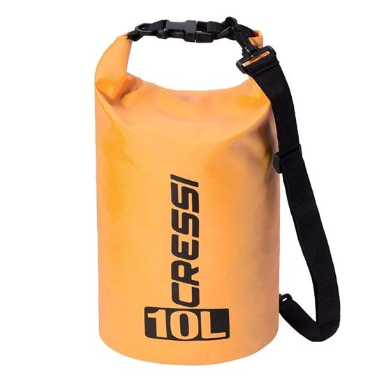 Cressi Dry Bag z naramnico   oranžna