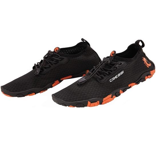 Cressi Molokai čevlji   črno oranžna