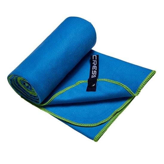 Cressi Microfibre Bicoloured brisača    modro zelena