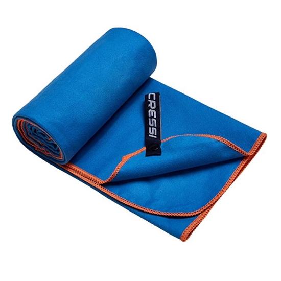 Cressi Microfibre Bicoloured brisača    modro oranžna