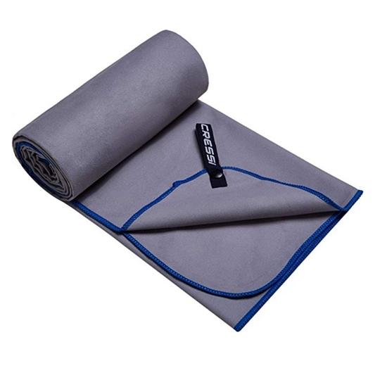 Cressi Microfibre Bicoloured brisača    sivo modra