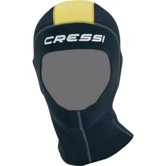 Cressi Castoro kapuca 5mm  črna/rumena S