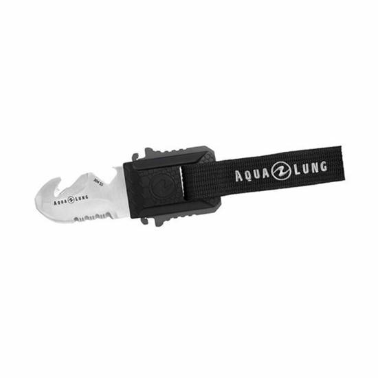 Aqualung Micro Squeeze Nož Črn / Grafit