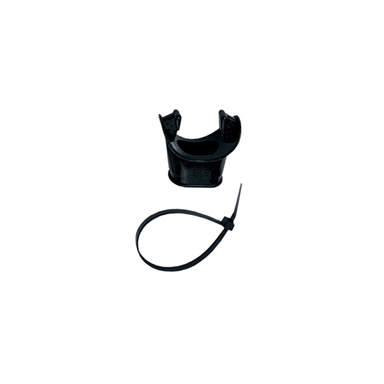 Mares Ustnik z vezico small fit črna