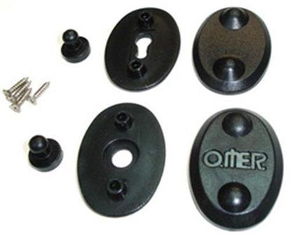 Omer Plastični gumb za obleke kos